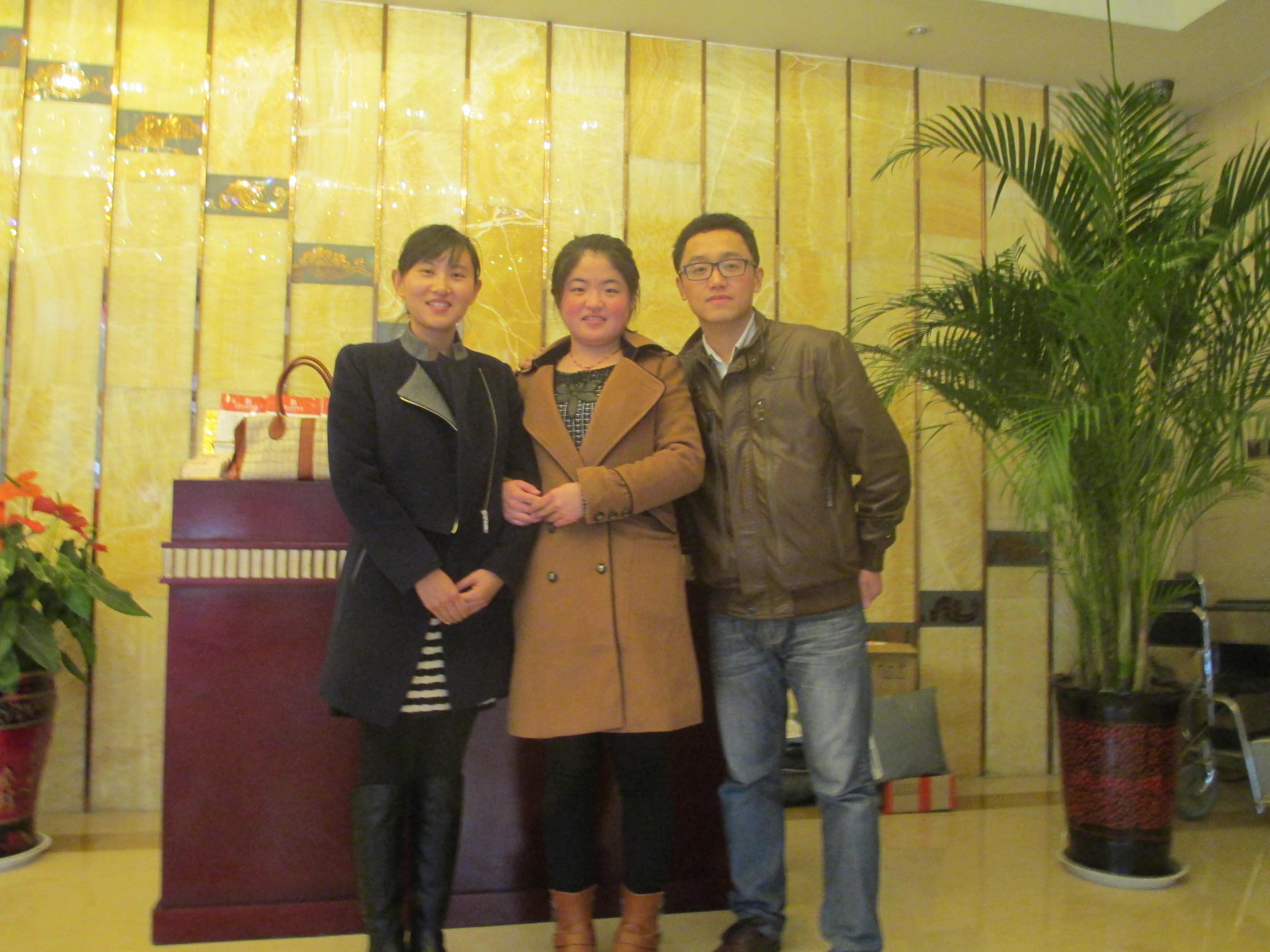 12月3日我院日语教师与共和机械...