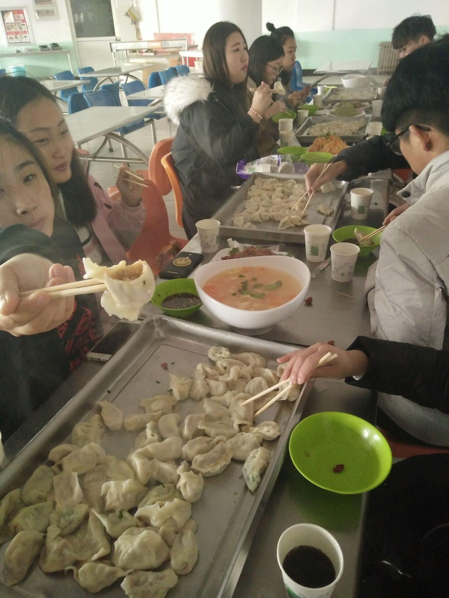 欢庆元旦 饺子传情