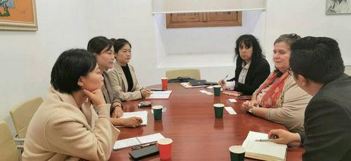 我校代表团出访西班牙合作大学